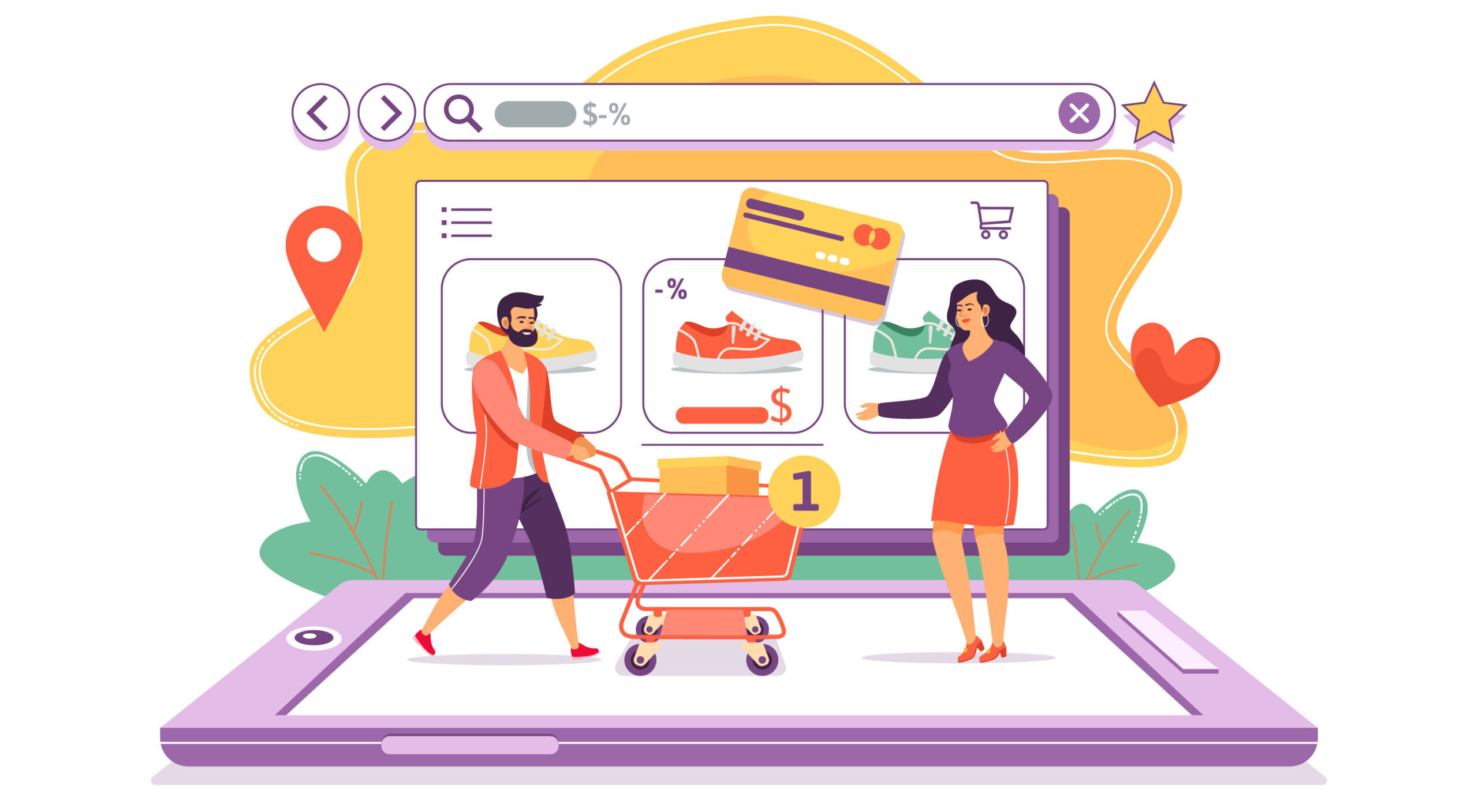 Mobile Apps and Online Shopping